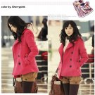 Korean Fashion Wholesale [B2-2018] Luxurious Jacket Coat - Pink - Size M