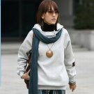 Korean Fashion Wholesale [E2-1106] Warm Hoodie - white