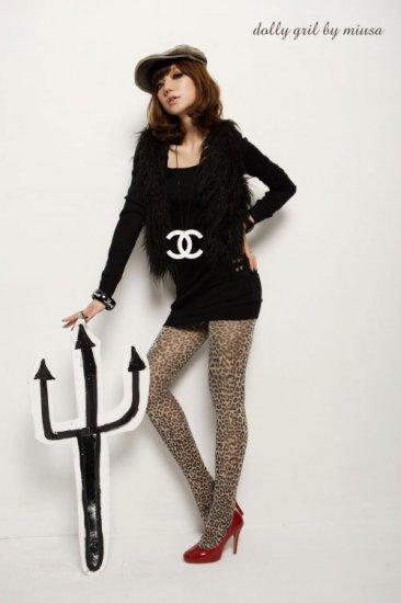 Korean Fashion Wholesale [B2-6242] Warm & Stylish Off-Shoulder Top - black