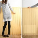 Korean Fashion Wholesale [E2-1062] Cute Slim-fit Stir-up Leggings - Classic black