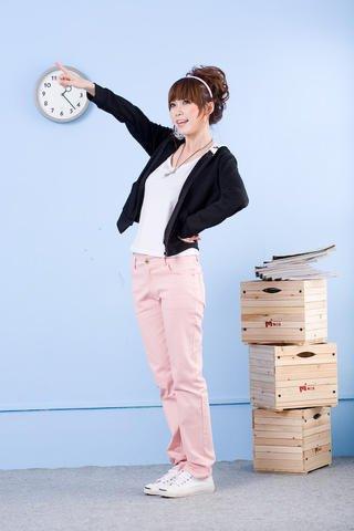 Korean Fashion Wholesale [E2-008] Stylish&Casual Colored Pants - Pink- Size M