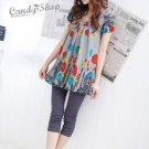 Korean Fashion Wholesale [C2-903] Cute Colored Slim Pants - gray