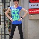 Korean Fashion Wholesale [C2-6020] Classic&Fashionable Straight-leg Pants - black- size M