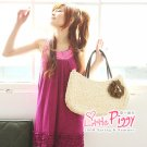 Korean Fashion Wholesale [B2-1463] Cute Sequined Little Dress - Pink