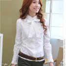 Korean Fashion Wholesale [B2-6259] Beautiful Lady Shirt - white
