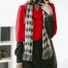 Korean Fashion Wholesale [B2-1608] Luxurious & Adorable Crop Jacket - Red