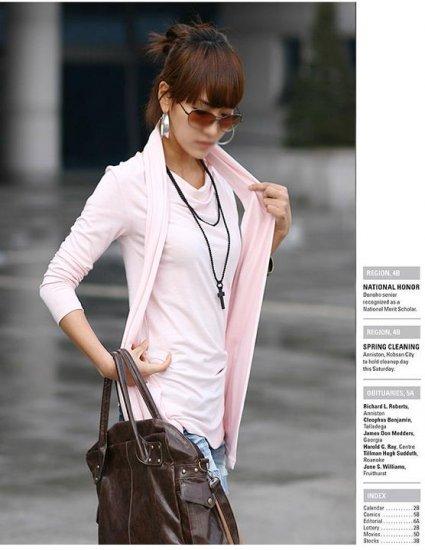 Korean Fashion Wholesale [B2-1610] Proffesional Unique Top - Pink
