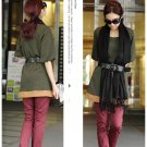 Korean Fashion Wholesale [B2-1605] Lady Attractive & Comfortable Long Top/Dress - green