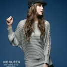 Korean Fashion Wholesale [B2-6188] ICE QUEEN Shimmering Elegant&Beautiful Top - Silvery