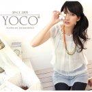 Korean Fashion Wholesale [B2-1458] Pretty & Elegant Flowy Korean style Chiffon Blouse