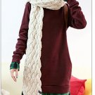 Korean Fashion Wholesale [B2-6134] SUPER Cute & Kawaii 2-layer look Plaid lined Hoodie - red wine