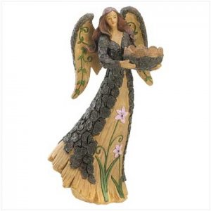 WOODLAND ANGEL STATUE