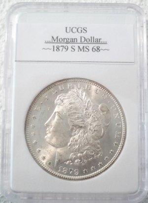 1879-S Morgan Dollar Uncirculated