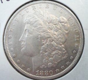 1880-O Morgan Dollar Uncirculated