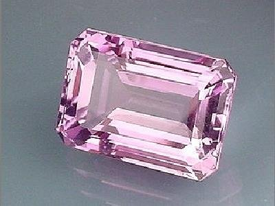Rose Amethyst Emerald, Radiant or Octagon Cut 11x9mm Facetted