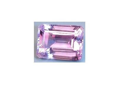 Huge 14x10 mm Amethyst Emerald-Radiant-Octagon Cut Gemstone
