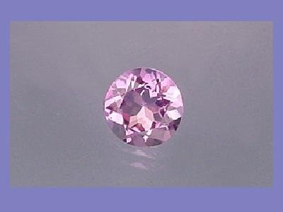 Amethyst 4 carat Round Cut 10mm Loose Gemstone