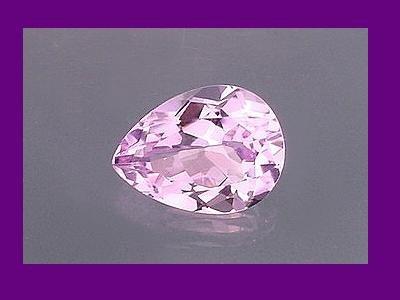 Pear Cut Amethyst 10x8mm Loose Gemstone
