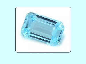 Sky Blue Topaz 10x8 mm Emerald Octagon Radiant Cut Loose Gemstone