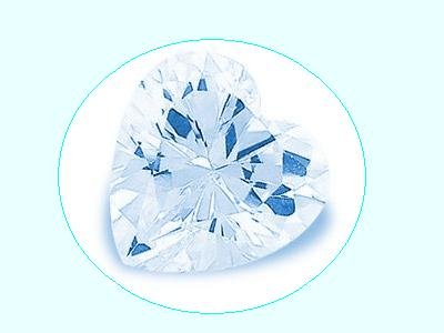 Swiss Blue Topaz 3ct 9x9mm heart Cut Loose Gemstone