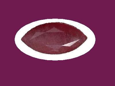 Ruby  Marquise Cut 14x7mm Loose Gemstone