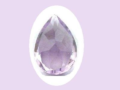 Amethyst Huge 8.64ct 18x12mm Pear Cut Loose Gemstone