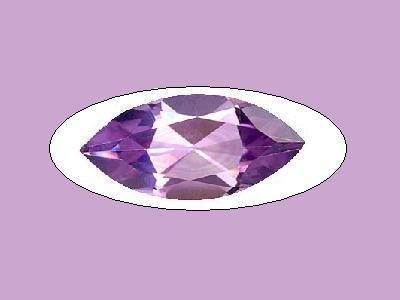 Amethyst 3ct 15x7mm Marquise Cut Loose Gemstone