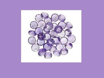 15 Amethyst  3mm Round Accent Loose Gemstones
