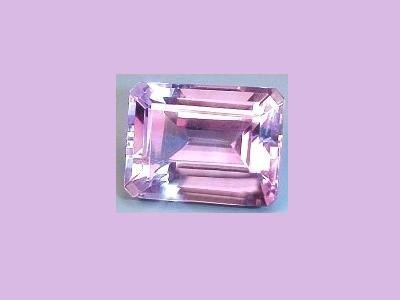 Amethyst 3.10ct 11x9mm Emerald, Oblong, Radiant Cut Loose Gemstone
