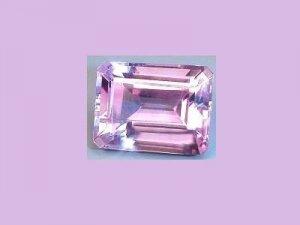 Amethyst 3.10ct 11x9mm Emerald, Oblong, Radiant Cut Loose Gemstone