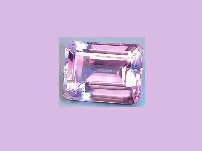 Amethyst 10x8mm 2.13ct. Emerald, Oblong, Radiant Cut Loose Gemstone