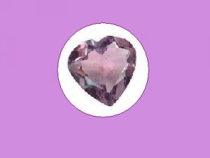 Nearly White Amethyst 4ct. Heart Cut Loose Gemstone