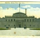 73603 Aquarium Battery Park NY New York City Postcard