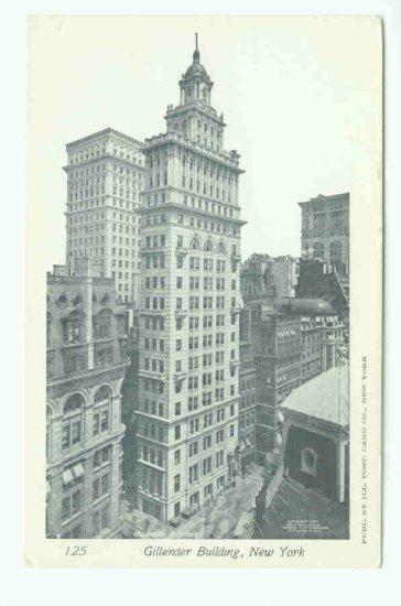 73613 NY New York City Gillender Building Postcard