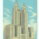 73630 NY New York City Vintage Postcard Hotel Waldorf-Astoria