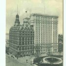 73636 NY New York City Vintage Postcard Bowling Green Build