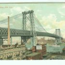 73653 NY New York City Vintage Postcard  Williamsburg Bridge 1910 era