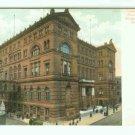 NY New York City Vintage Postcard Criminal Court Building and Bridge of Sighs
