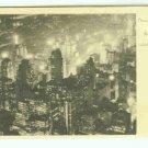 73663 NY New York City Vintage Postcard The Great White Way