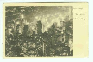 73663 NY New York City Vintage Postcard The Great White Way