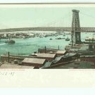 73665 NY New York City Vintage Postcard 1904 Williamsburg Bridge