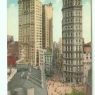 73667 NY New York City Vintage Postcard  Park Row and St. Paul Buildings