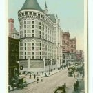 73674 NY New York City Vintage Postcard Street Scene The Tombs 1905