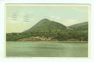 NY New York City Vintage Postcard Sugarloaf Hudson River