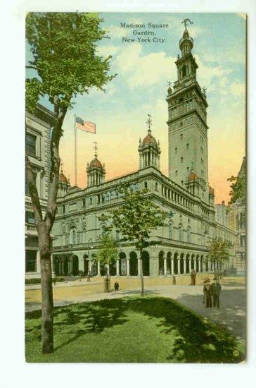 73681 NY New York City Vintage Postcard Madison Square Garden