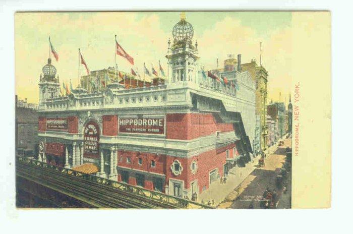 73693 NY New York City Vintage Postcard Hippodrome 1910