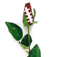 """SPORTS ROSE- """"FOOTBALL ROSE"""" Made from an actual football!"""