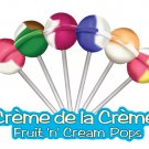 Creme de la Creme Fruit 'n' cream pops