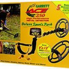 GARRETT ACE 250 DELUXE SPORTS PACK METAL DETECTOR!