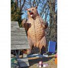 "Design Toscano Growling Grizzly Bear"" Life-Size Statue"